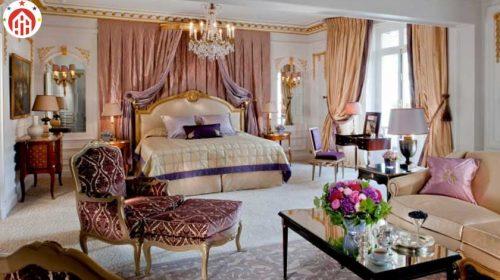 The Royal Suite, Hotel Plaza Athenee, Paris