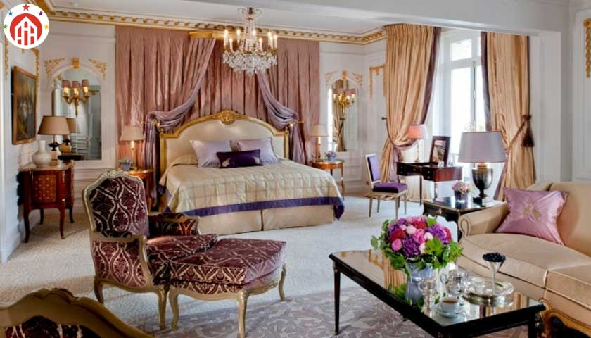 The Royal Suite, Hotel Plaza Athenee, Paris