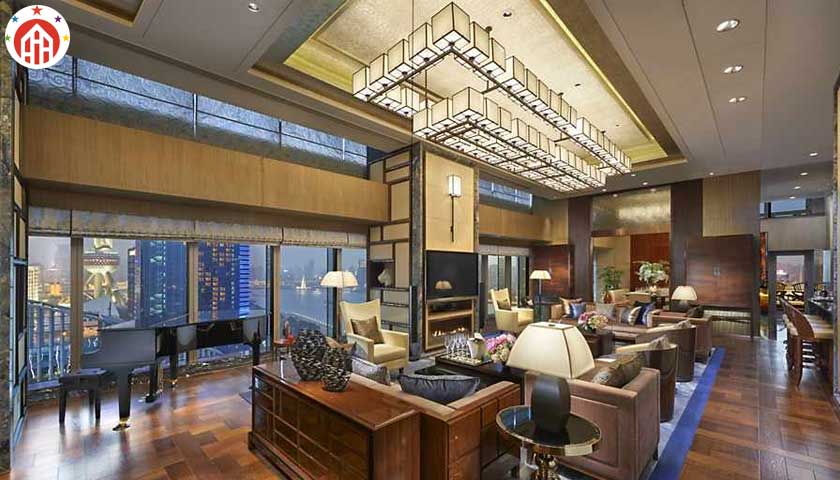 Presidential Suite, Mandarin Oriental, Shanghai