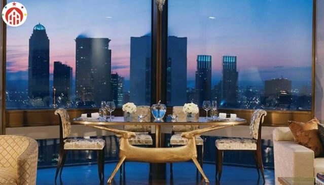 Ty Warner Penthouse, Four Season Hotel, New York